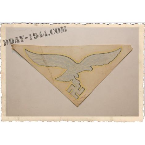 insigne luft 2ème modèle, aspect ancien