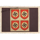 board of 4 swastika decals, look old