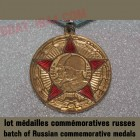 batch of Russian commemorative medals