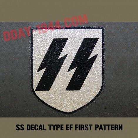 EF SS decal early, first pattern