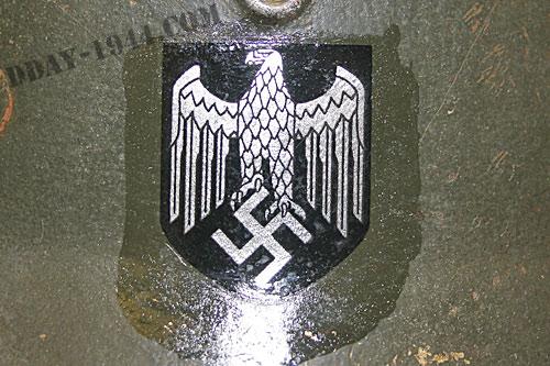 insigne casque allemand