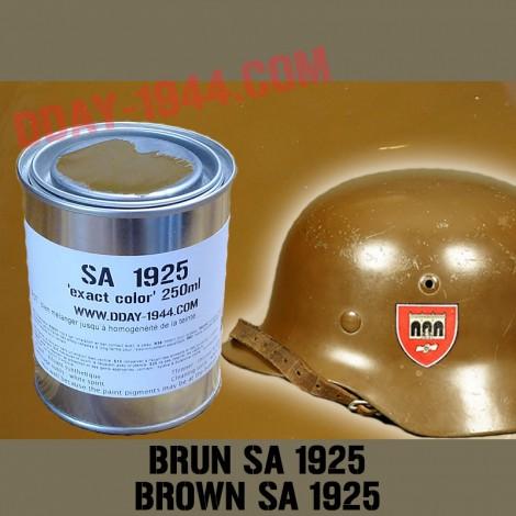 color brown SA german helmet