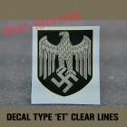 early ET decal WH dark lines