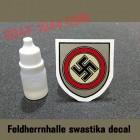 Feldherrnhalle sawstika decal