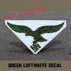 decal luftwaffe variante vert/bleu