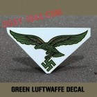 subdued green luftwaffe decal