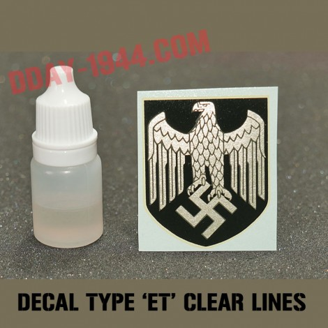 ET decal WH clear lines