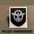 german helmet decal polizei