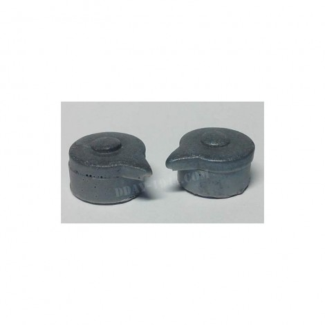 CHINSTRAP POSTS FOR GERMAN HELMETS M16, M17 (MOLDING RESIN)