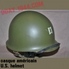 U.S. helmet captain 2 ranger officer