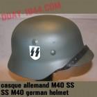 M40 SS german helmet