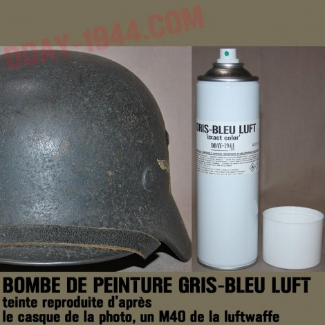 grey-blue luftwaffe 'exact color'