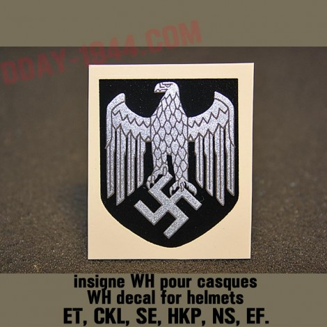 german helmet decal heer wehrmacht