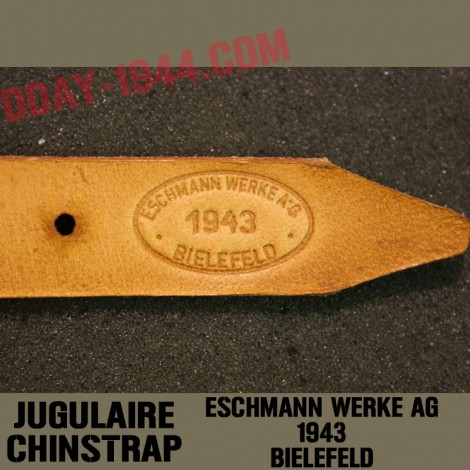 CHINSTRAP 'PERFECT REPLICA' MARKED 'E.KOMMLE 1940'