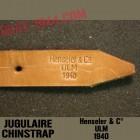 CHINSTRAP 'PERFECT REPLICA' Henseler & C° ULM 1940