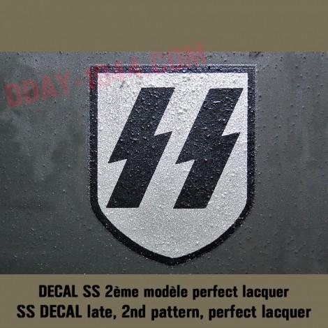 german helmet decal SS late, second pattern
