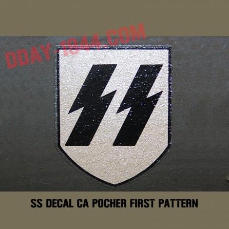 CA POCHER SS DECAL