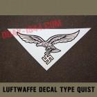 german helmet decal luft luftwaffe quist