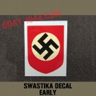 early swastika decal