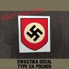 german helmet decal swastika