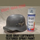 grey-blue luft 'exact color' textured