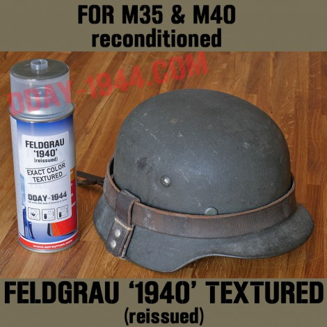 feldgrau reissued 'exact color' textured