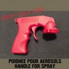 Poignée pistolet universel pour bombes de peinture