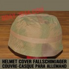 WAFFEN SS HELMET COVER reproduction