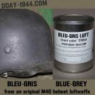 gris-bleu luftwaffe TEXTURED