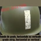 INSIGNE BANDE DE GRADE