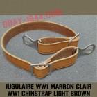 JUGULAIRE POUR CASQUE ALLEMAND WW1