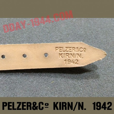 CHINSTRAP 'PELZER&CO KIRN/N. 1942