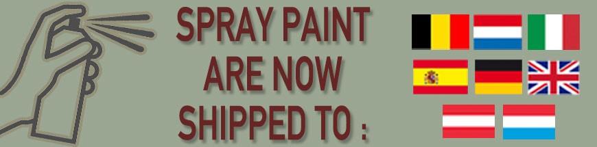 wwé spray paint